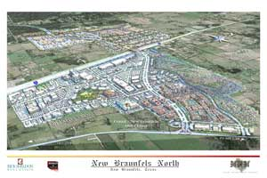 New Braunfels IH35 development project